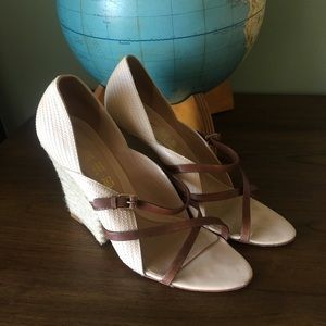 L.A.M.B. Wedge sandals